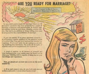 """Are You Ready For Marriage?"" from Girls' Romances"