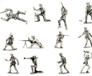 Silver Army Men