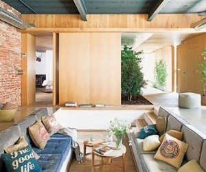 Barcelona Home with Sunken Living Room
