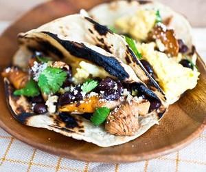 Mushroom & Black Bean Breakfast Tacos