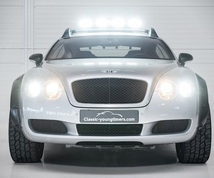 Bentley Continental GT fit for off-road