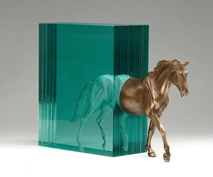 "Ben Young ""Bronze & Glass"""