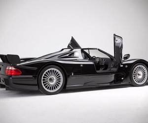 '99 Mercedes CLK-GTR His Auction