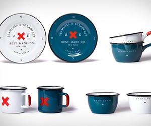 Seamless & Steadfast Enamelware, by Best Made Comp