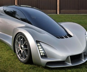 The Blade 3D Printed Supercar