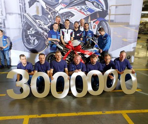 Three million BMW motorcycles from Berlin!