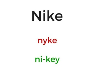 How to pronounce these brand names correctly?