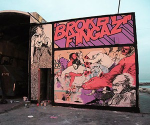 Streetart: Broken Fingaz – New Murals in London