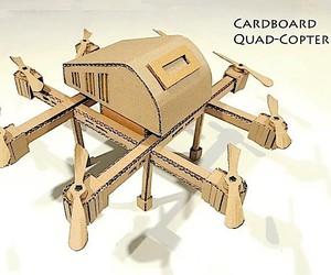 SKM constructs a cardboard drone