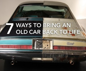 7 Ways to Bring an Old Car Back to Life