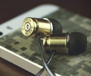 DIY Bullet Casing Headphones