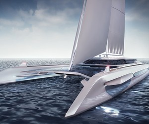 ECO Catamaran Yacht