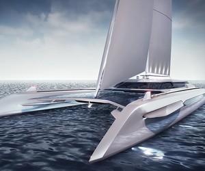 ECO Catamaran Yacht