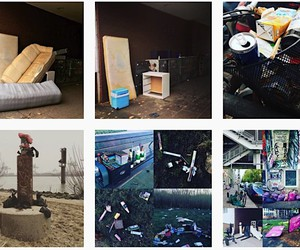 Insta account shows the dirtiest places in Hamburg