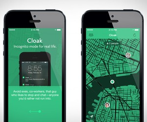 Cloak | The Anti Social Network