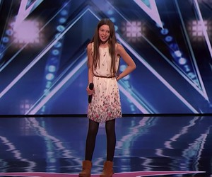 13 year old Courtney Hadwin with goose bumps voice