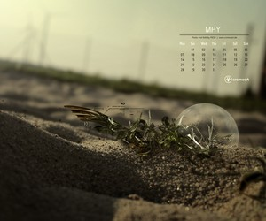 Free Desktop Calendar - May 2012