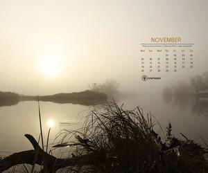 Free Desktop Calendar – November 2012