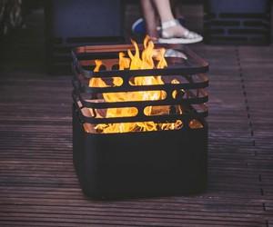 Cube Fire Pit