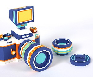 Camera make from Paper