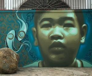 Streetart: El Mac New Mural in Vietnam