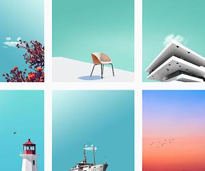 Minimal pure design photography