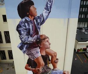 Streetart: New Mural by Fintan Magee in Dunedin