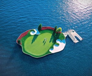 Floating Green | Coeur dAlene Golf Course