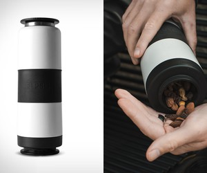 FLPSDE Dual Chamber Water Bottle