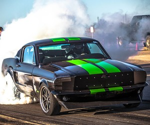 800 HP Electric '68 Mustang