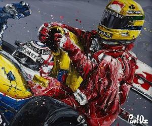 Formula 1 Art - Heroes of the Asphalt