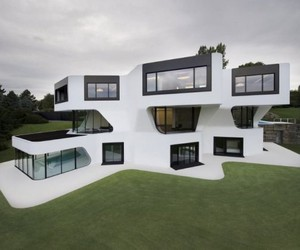 Futuristic and Modern Dupli.Casa by J. MAYER H.