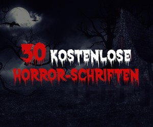 30 Halloween-Fonts