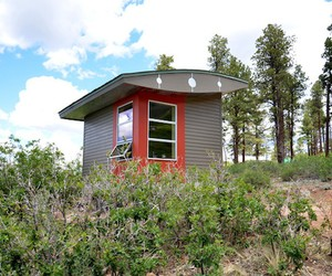 100 Square Foot Hut in New Mexico