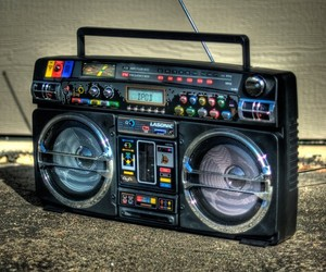 Retro iPod Boombox