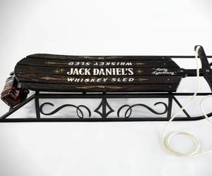Jack Daniel's Whiskey Sled