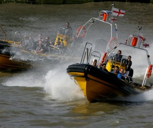 Experience James Bond in a 245 Horsepower Boat
