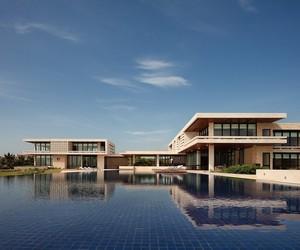 L'imposante résidence moderne