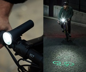 Laserlight Core Projection Bike Light
