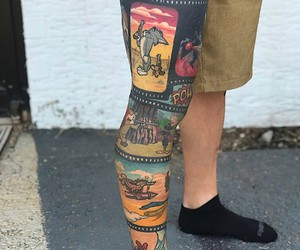 Creative ideas for leg tattoos