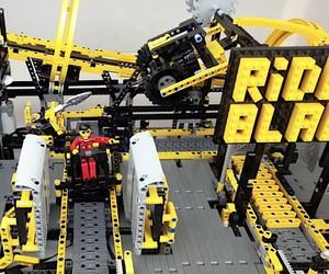 Amusement park from LEGO Technic