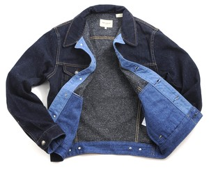 Levis Made and Crafted Denim Jacket Indigo