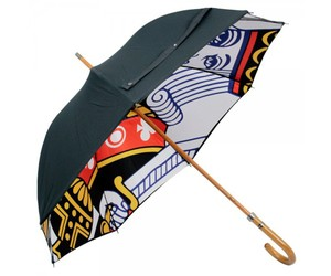 London Undercover King of Clubs Umbrella - Stuarts