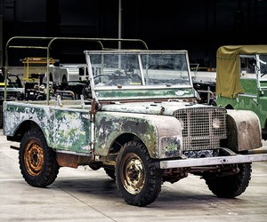 Land Rover Restores Its Lost 1948 4x4 Prototype
