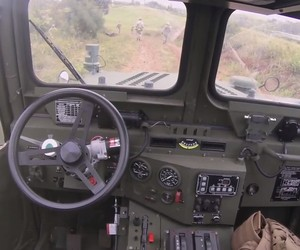 Marines Test Out Self-Driving Vehicles