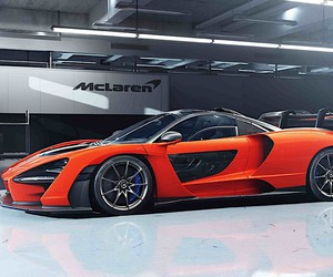 McLaren names a car after Ayrton Senna