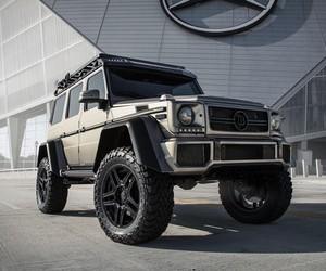 Mercedes-Benz G550 Brabus 4x4 Squared