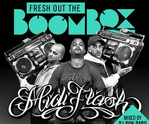 "MIDIFLASH – ""Fresh Out The Boombox"" (Mixtape)"
