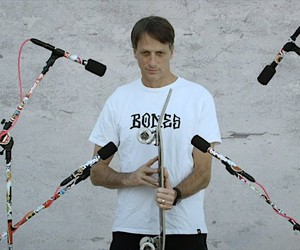 Tony Hawk & Bonamaze Music sound from skateboards