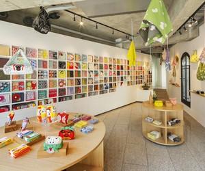 Musubi Shop in Tokyo by Torafu Architects